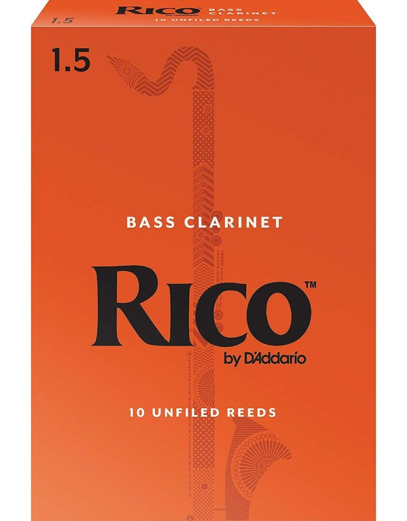 Rico Rico Bass Clarinet Reeds 1.5 (10 Pack)