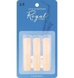 Rico Rico Royal Alto Sax Reeds 2.5 (3 Pack)
