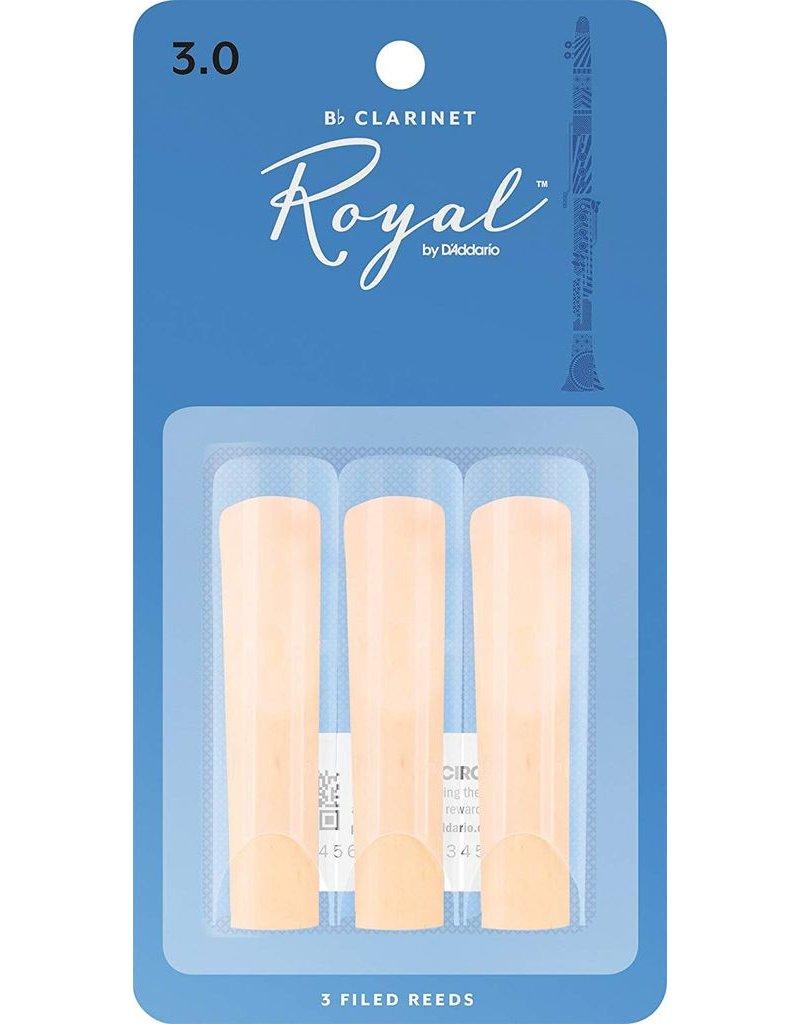 Rico Rico  Royal Clarinet Reeds 3 (3 Pack)