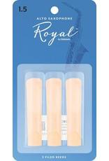 Rico Rico Royal Alto Sax Reeds 1.5 (3 Pack)