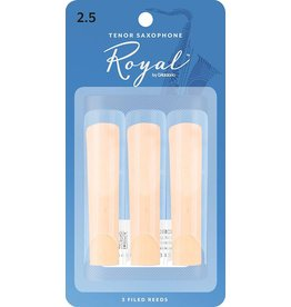 Rico Rico Royal Tenor Sax Reeds 2.5 (3 Pack)
