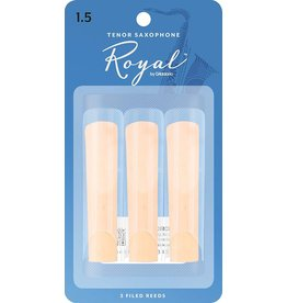 Rico Royal Tenor Sax Reeds 1.5 (3 Pack)