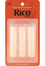 Rico Rico Baritone Sax Reeds 1.5 (3 Pack)