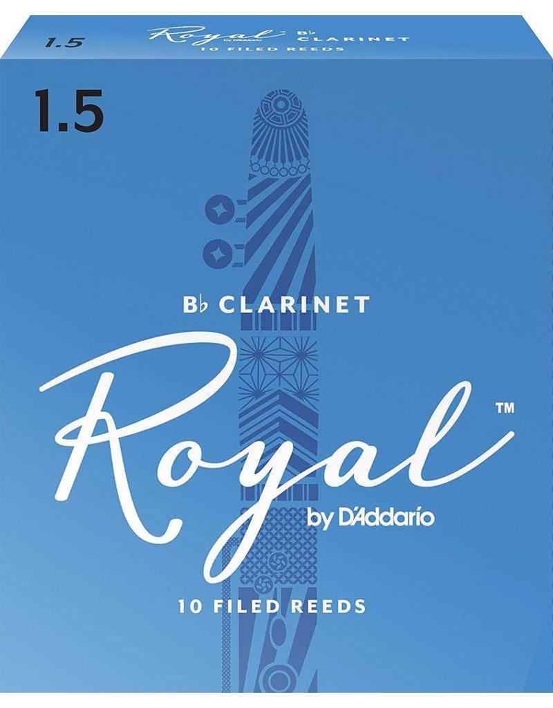 Rico Rico Royal Clarinet Reeds 1.5 (10 Pack)