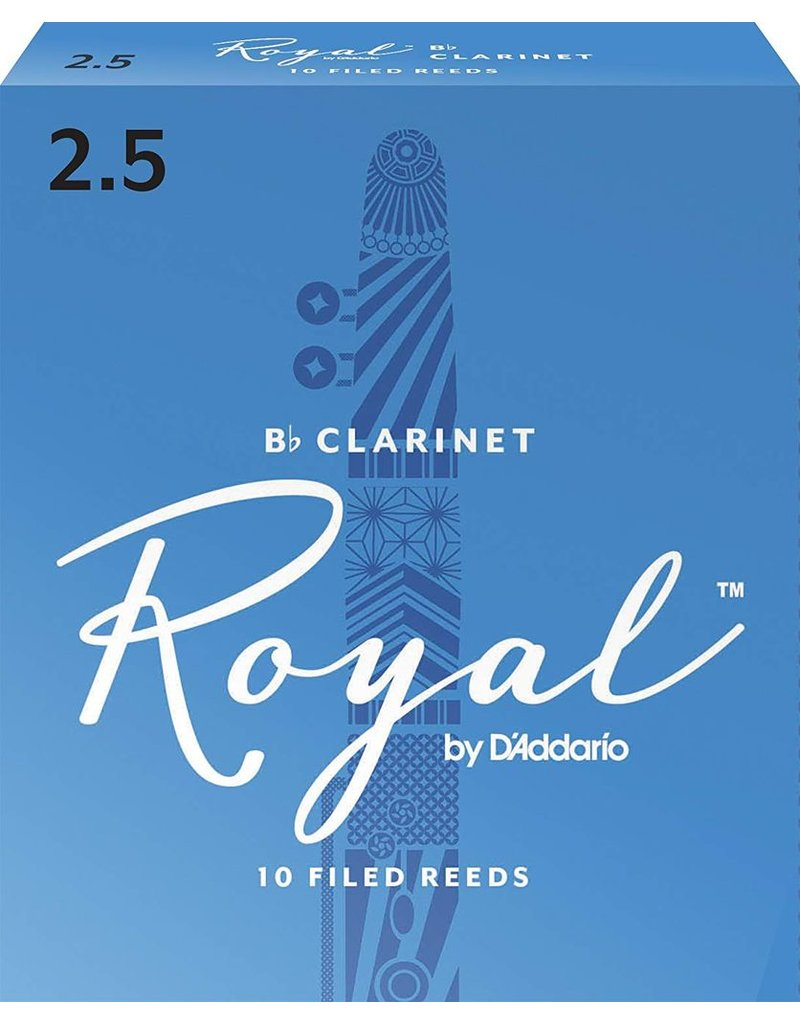 Rico Rico Royal Clarinet Reeds 2.5 (10 Pack)
