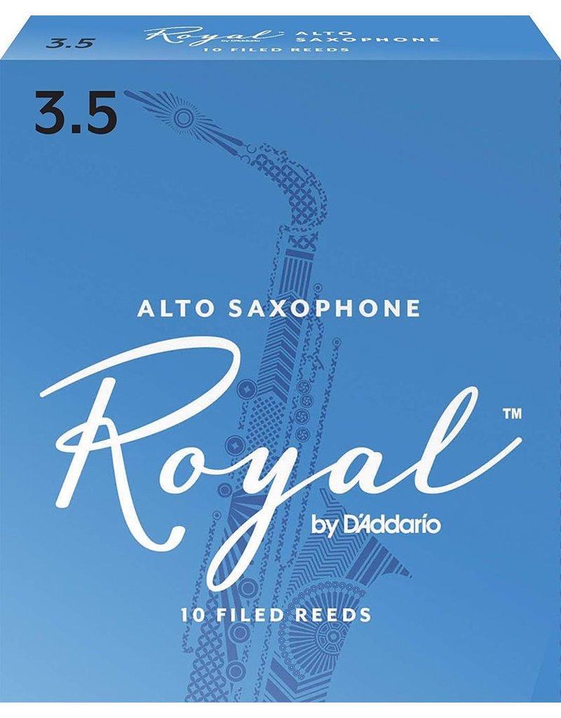 Rico Rico Royal Alto Sax Reeds 3.5 (10 Pack)