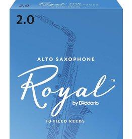 Rico Rico Royal Alto Sax Reeds 2 (10 Pack)