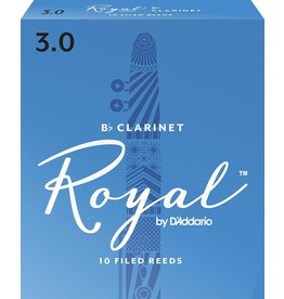 Rico Royal Clarinet Reeds 3 (10 Pack)