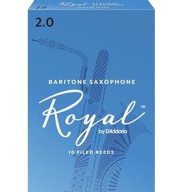Rico Royal Baritone Sax Reeds 2 (10 Pack)