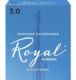 Rico Royal Soprano Sax Reeds 3 (10 Pack)