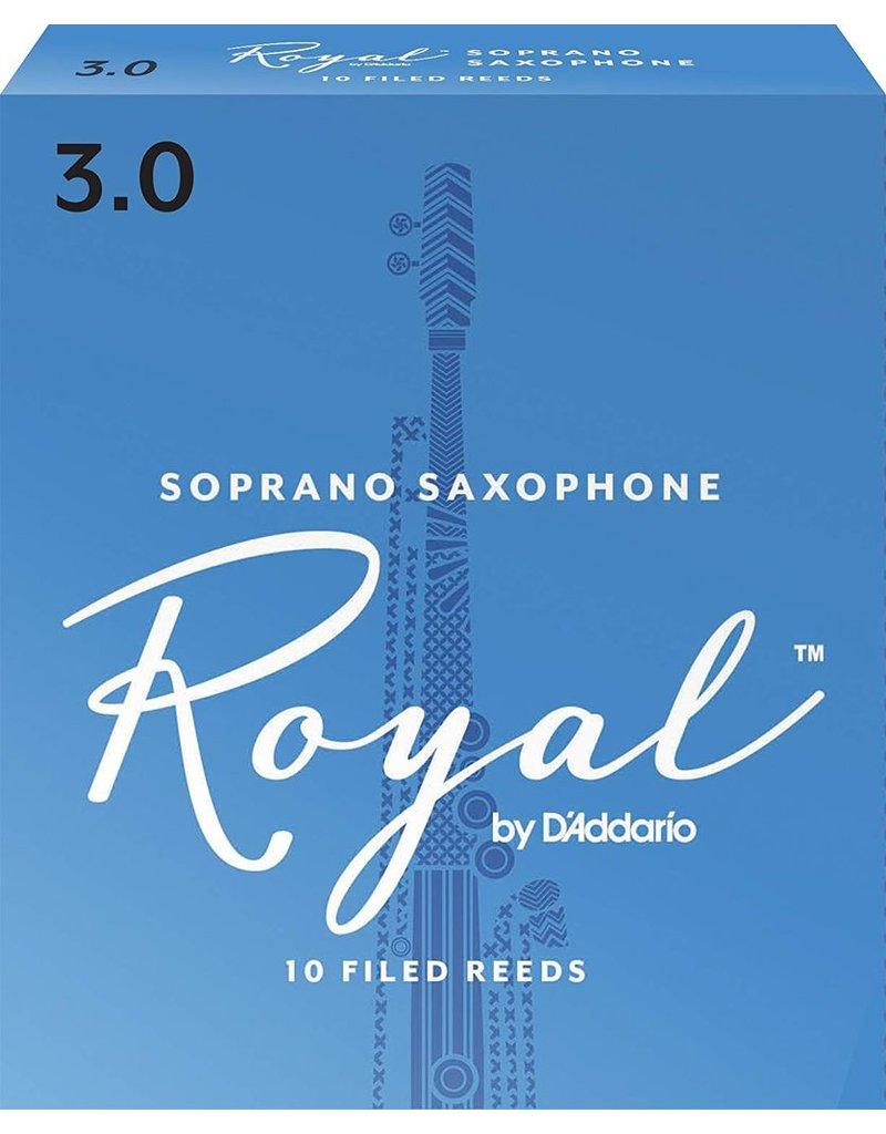 Rico Rico Royal Soprano Sax Reeds 3 (10 Pack)