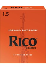 Rico Rico Soprano Sax Reeds 1.5 (10 Pack)