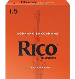 Rico Soprano Sax Reeds 1.5 (10 Pack)