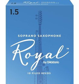 Rico Rico Royal Soprano Sax Reeds 1.5 (10 Pack)