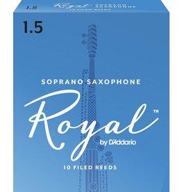 Rico Royal Soprano Sax Reeds 1.5 (10 Pack)