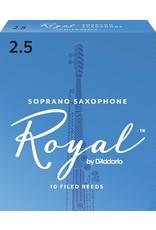 Rico Rico Royal Soprano Sax Reeds 2.5 (10 Pack)