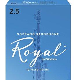 Rico Royal Soprano Sax Reeds 2.5 (10 Pack)