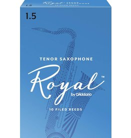 Rico Royal Tenor Sax Reeds 1.5 (10 Pack)