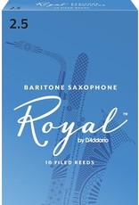 Rico Rico Royal Baritone Sax Reeds 2.5 (10 Pack)
