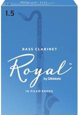 Rico Rico Royal Bass Clarinet Reeds 1.5 (10 Pack)