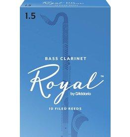 Rico Royal Bass Clarinet Reeds 1.5 (10 Pack)