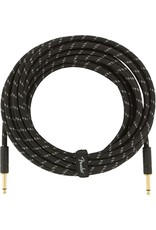 Fender Deluxe 25ft Cable Black Tweed