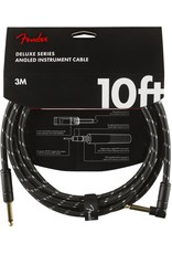 Fender Deluxe 10ft Black Tweed Cable
