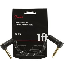 Fender Deluxe 1ft Black Tweed Cable