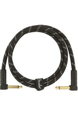Fender Deluxe 3ft Black Tweed Cable