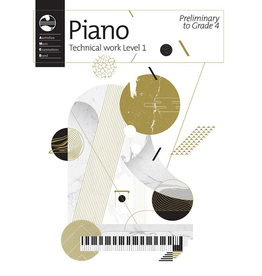 AMEB Piano Technical Work Level 1 2018