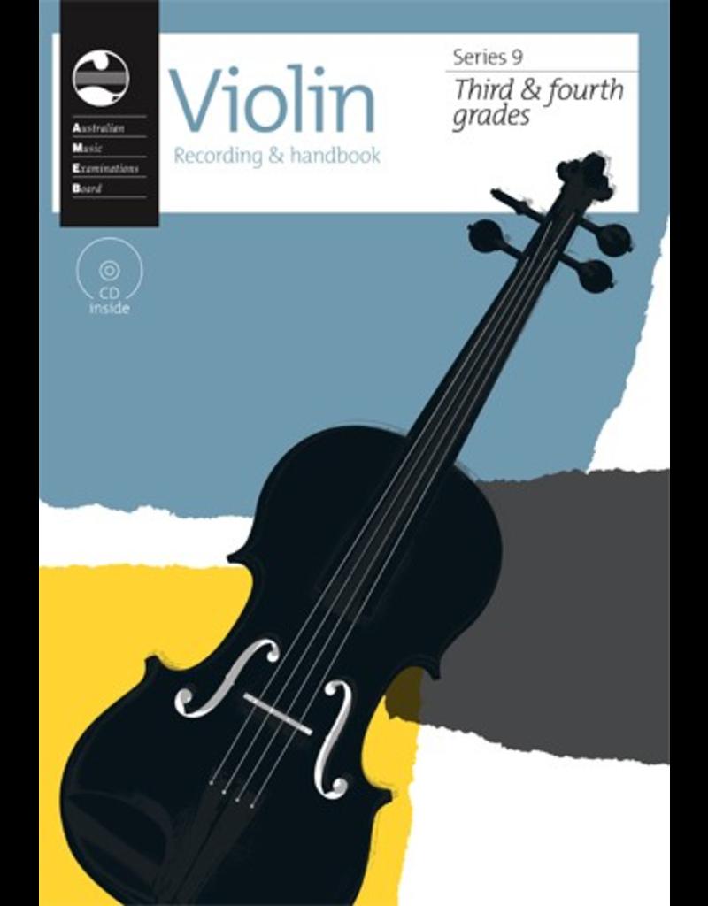 AMEB AMEB Violin Grade 3+4 Handbook Series 9