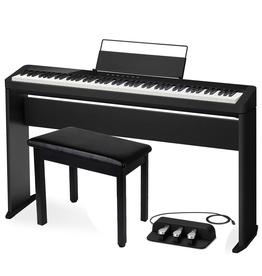 Casio Privia PX-S1000BK + Stand, Pedals & Bench