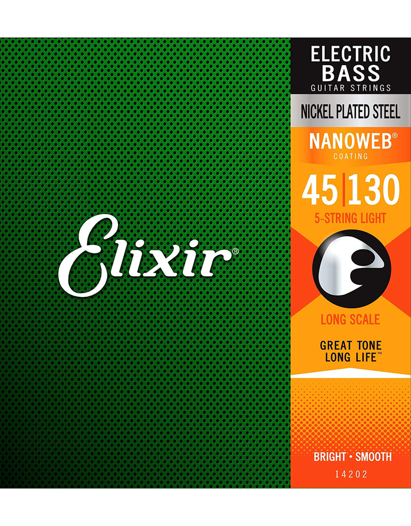 Elixir Elixir Bass 5 String 45-130