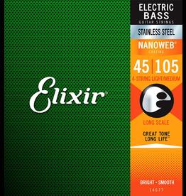 Elixir Bass Medium 45-105