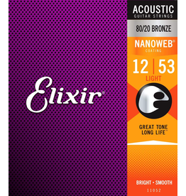 Elixir Nanoweb 80/20 Acoustic 12-53