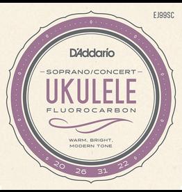 Daddario Daddario Pro-Arté Carbon Ukulele Strings, Soprano / Concert