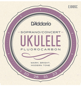 Daddario Pro-Arté Carbon Ukulele Strings, Soprano / Concert