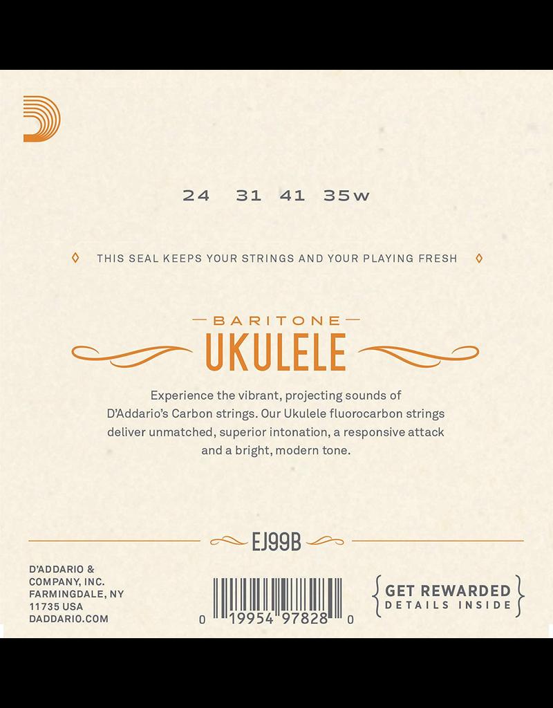 Daddario Daddario Pro-Arté Carbon Ukulele Strings, Baritone