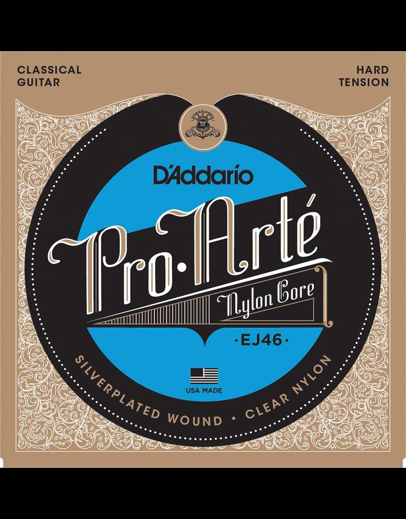 Daddario Daddario Pro-Arté Nylon Strings, Hard Tension