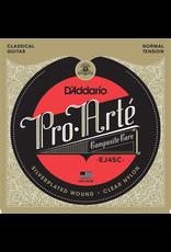 Daddario Daddario Pro-Arté Composite Strings, Normal Tension