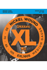 Daddario Daddario EXL160S Short Scale 50-105