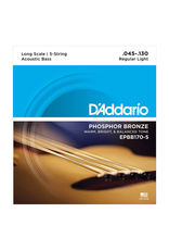 Daddario Daddario 5-String Acoustic Bass Strings 45-130