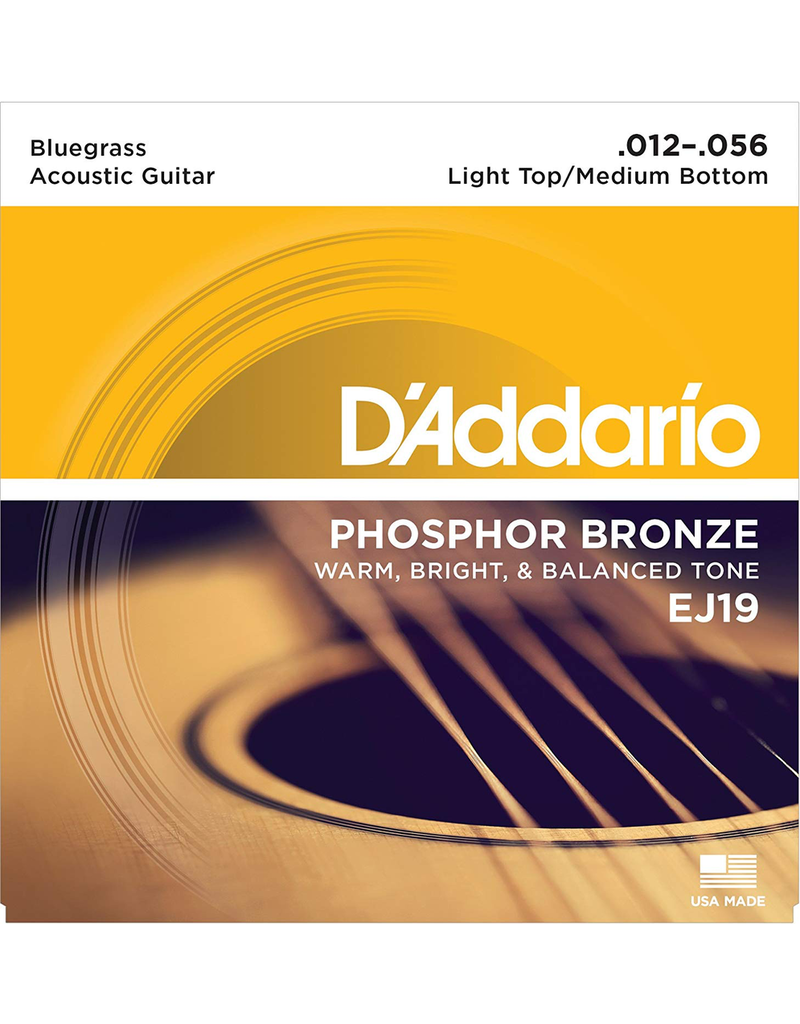 Daddario Daddario EJ19 Bluegrass Strings, 12-56