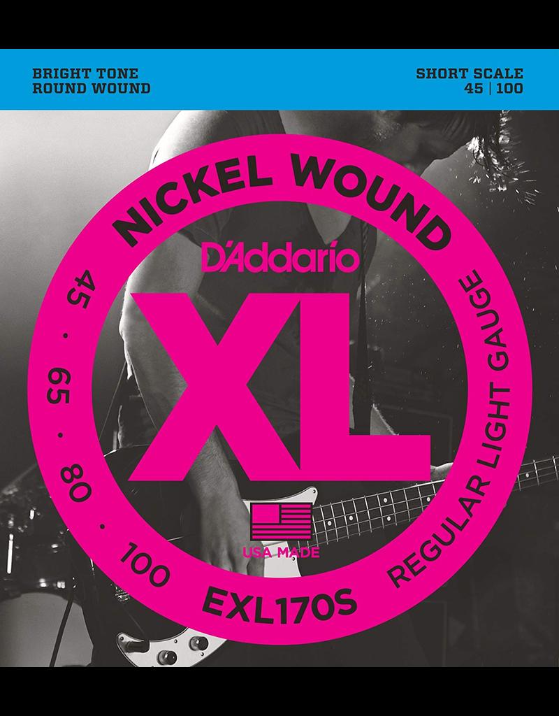 Daddario Daddario EXL170S Short Scale 45-100