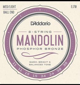 Daddario EJ70 PB Mandolin Strings, 11-38