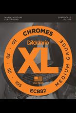 Daddario Daddario Flat Wound ECB82, 50-105