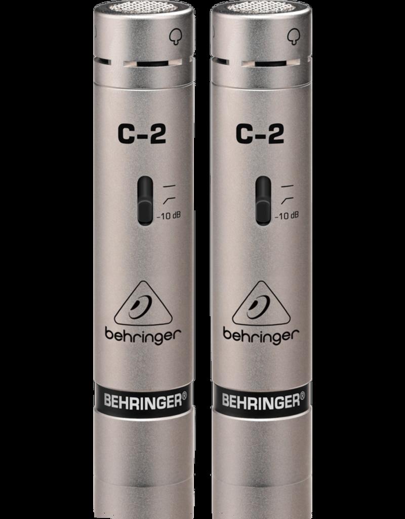 Behringer Behringer C-2 Condenser Microphone (Matched Pair)