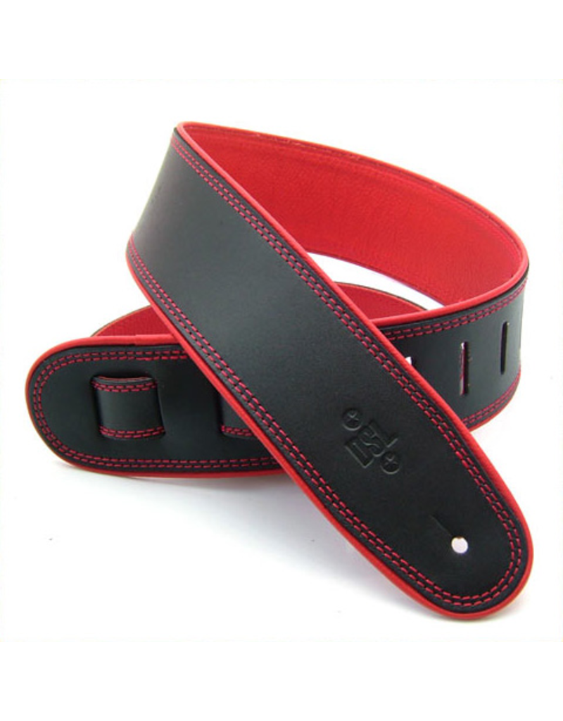 "DSL DSL 2.5"" Rolled Edge Black/Red"