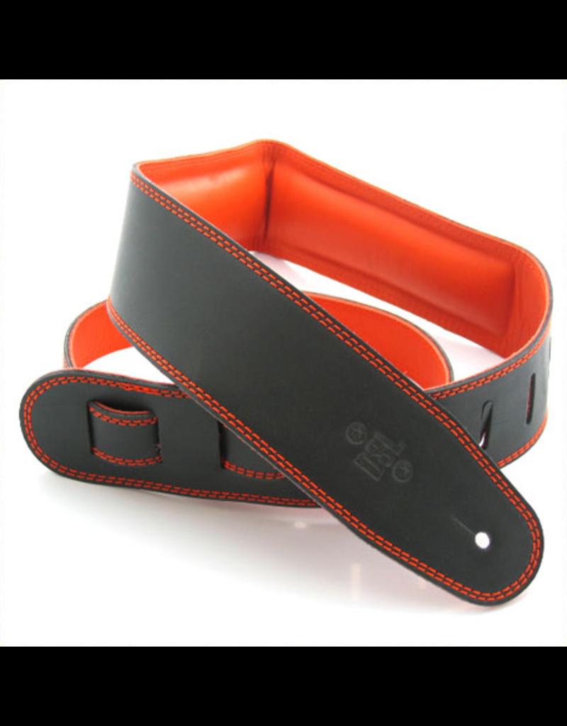 """DSL DSL 2.5"""" Padded Garment Black/Orange,"""