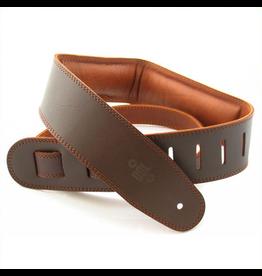 "DSL 2.5"" Padded Garment Saddle Brown"